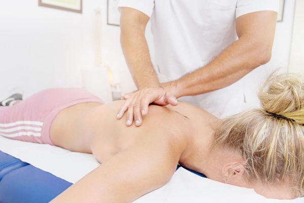 Carlos Estaban y el masaje deportivo