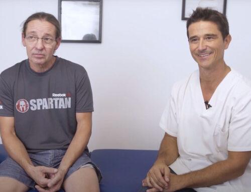 Evitar el quirófano: de hernia discal a competir