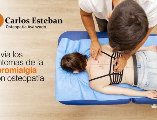 Alivia los síntomas de la fibromialgia con osteopatía